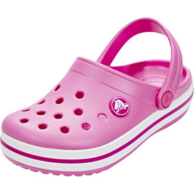 Crocs Crocband Clogs Niños, party pink